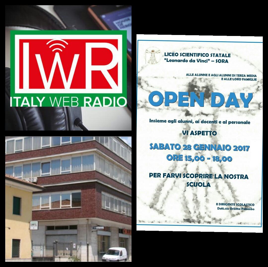 Italy web radio presenta il Liceo scientifico Leonardo da Vinci di Sora