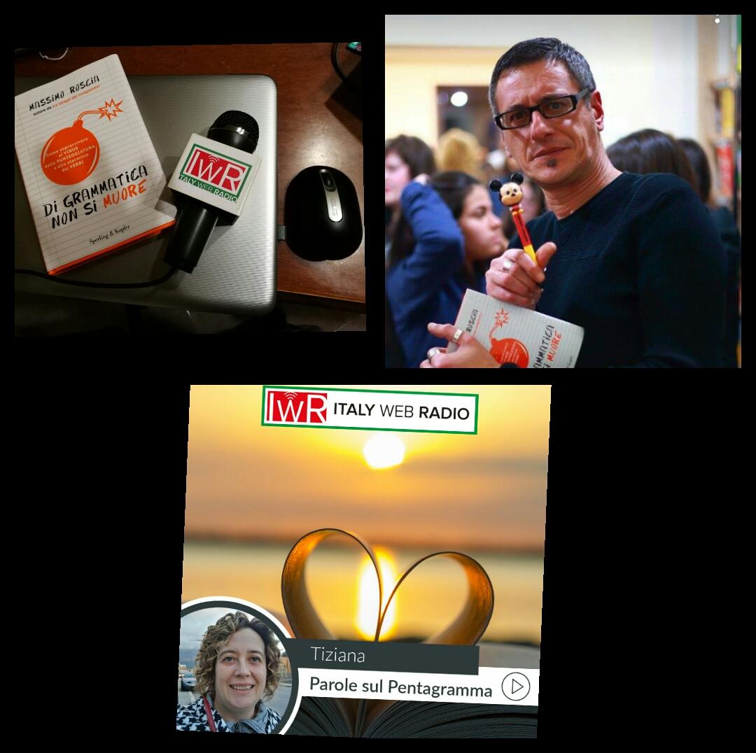 Massimo Roscia ospite di Italy web radio