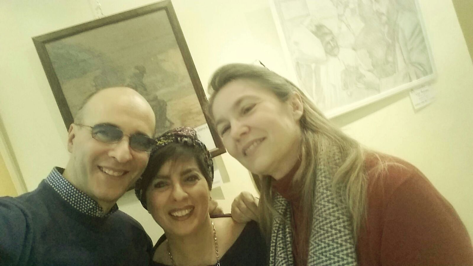 Claudio e Diana incontrano Daniela Wollmann