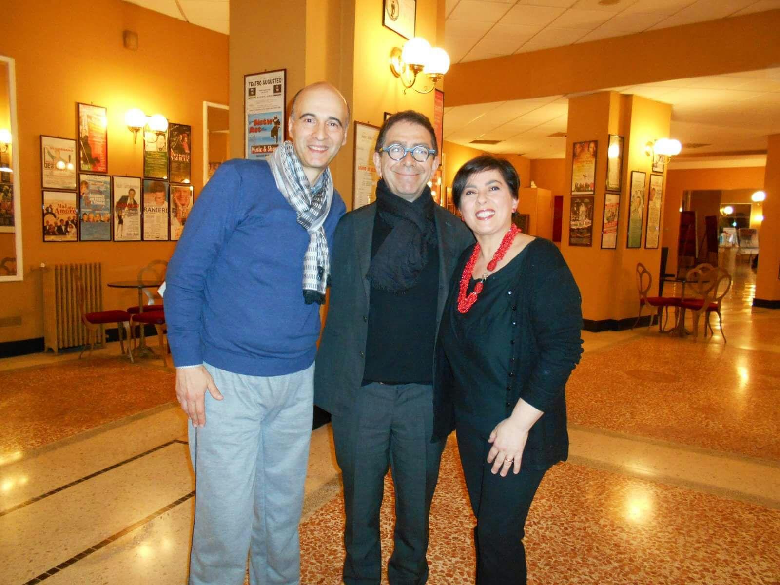 Claudio e Diana di Italy Web Radio intervistano Pino Strabioli