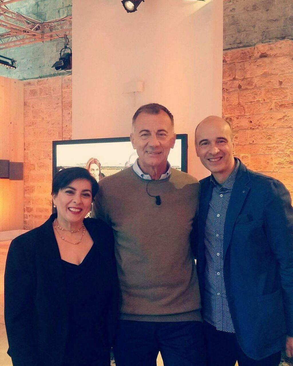 Claudio e Diana intervistano Michele Cucuzza