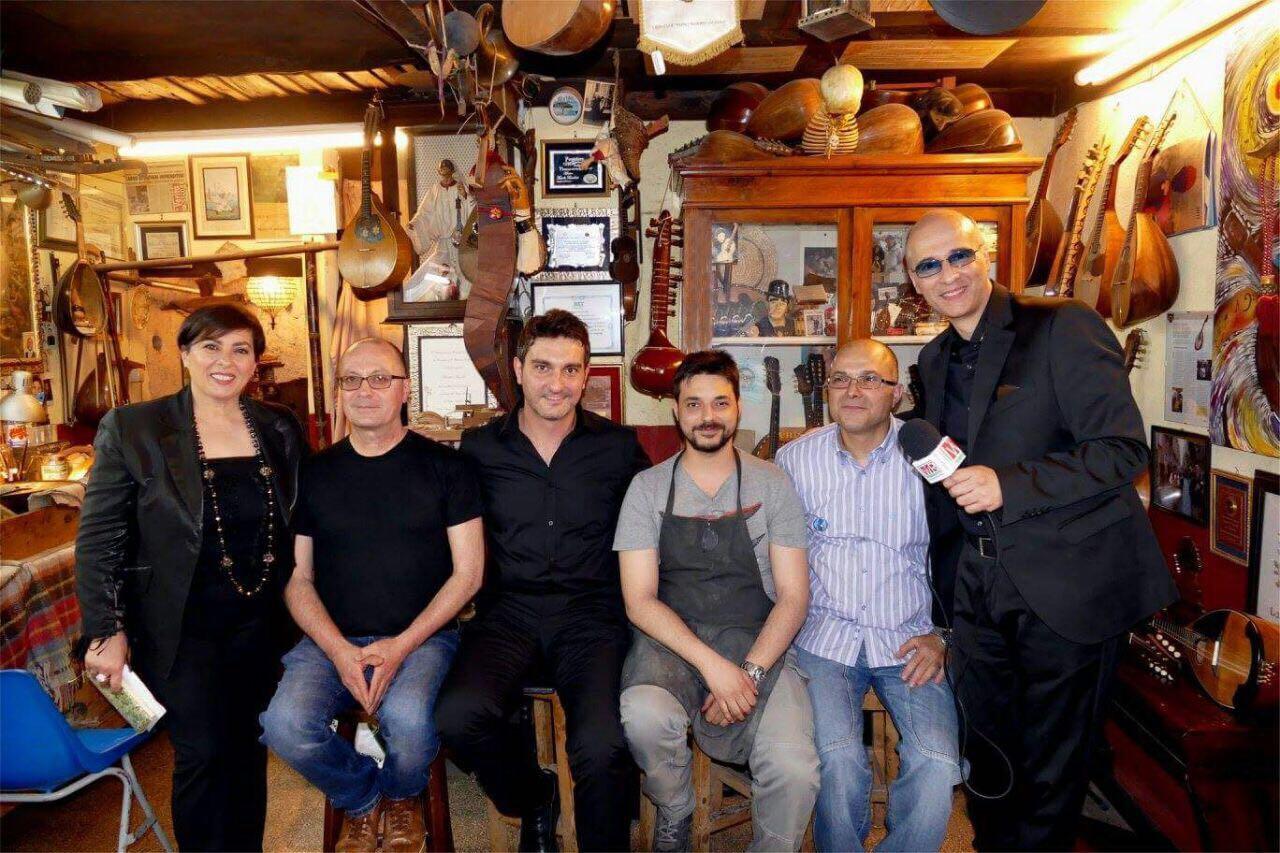 Claudio e Diana intervistano i Maestri liutai Michele Caiazza e Salvatore Masiello