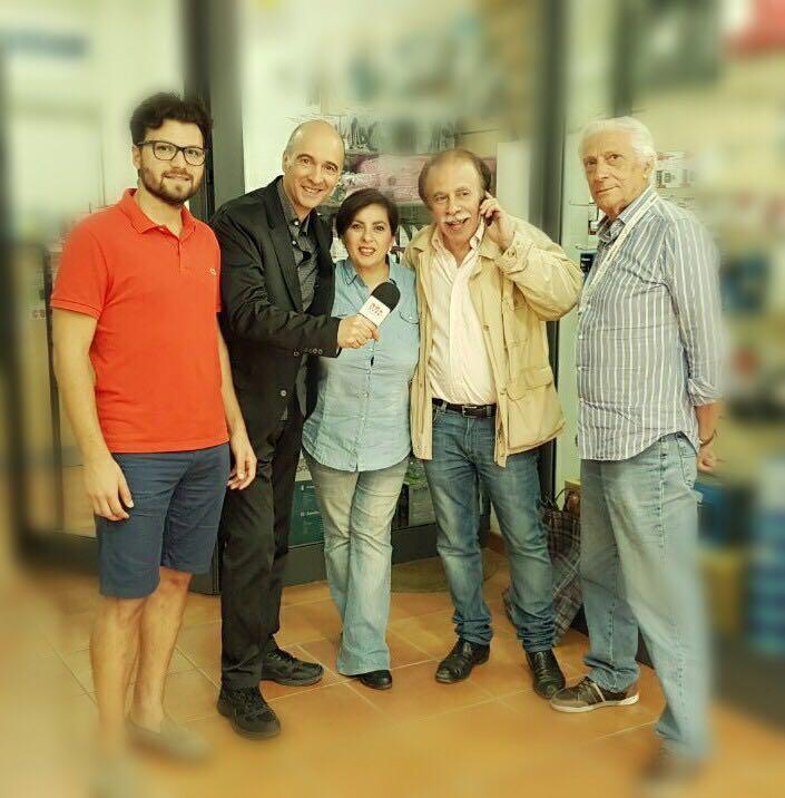 Claudio e Diana intervistano Carlo Casale, Pino Imparato e Nicola Spisso
