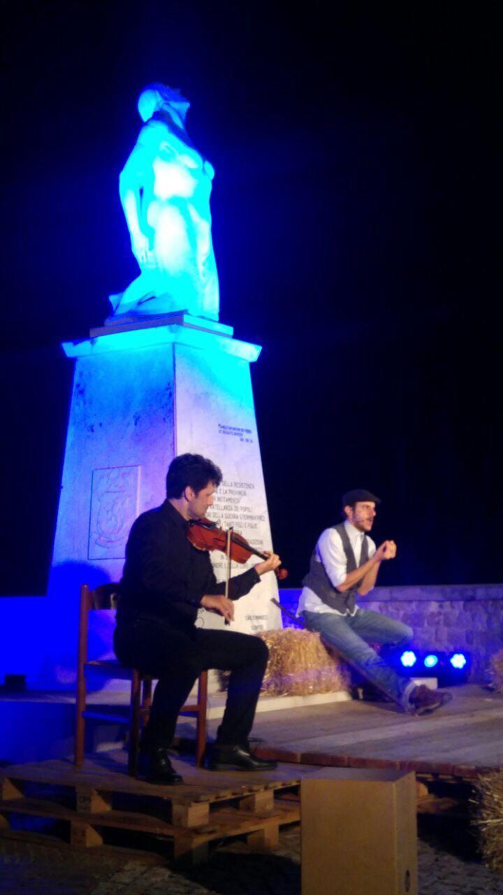 Italy Web Radio presente a Castro dei Volsci per lo spettacolo teatrale
