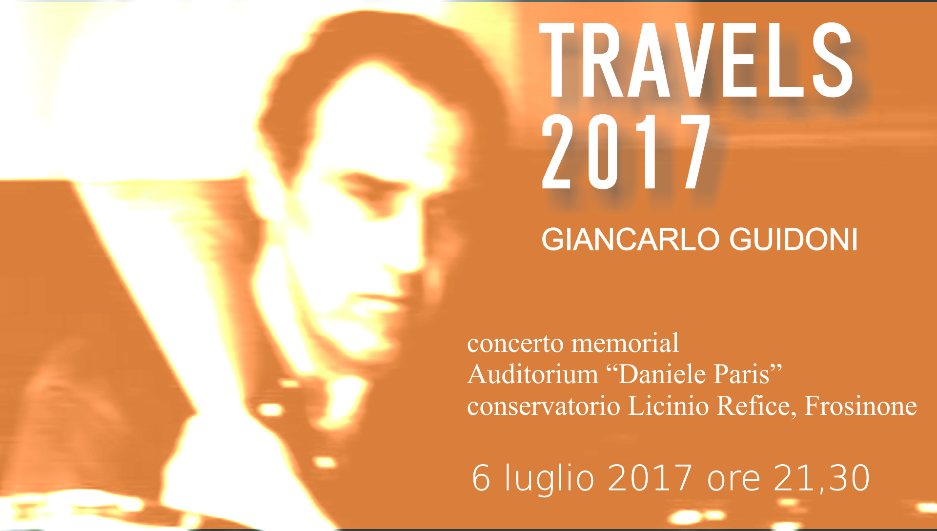 Travels 2017 - Giancarlo Guidoni Memorial