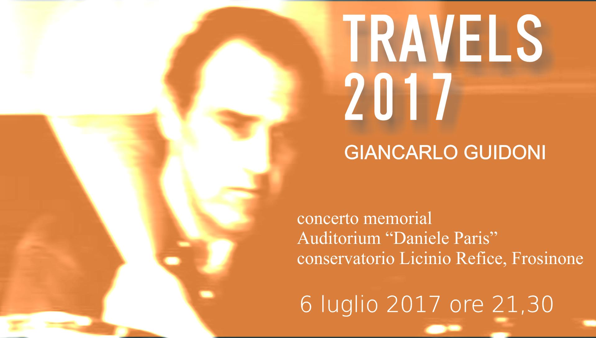 Travels 2017 - Giancarlo Guidoni Memorial
